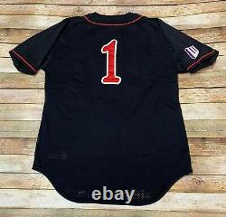Nike SAN DIEGO STATE Aztecs TEAM ISSUE #1 Game Jersey NCAA Baseball Sz 38 SM MED
