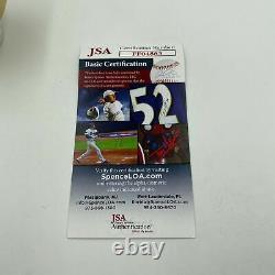 Rare Roger Clemens 200th Career Win 5-22-97 Signed Game Used Baseball JSA COA