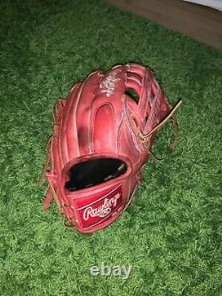 Rawlings Heart Of The Hide Proharp34s Bryce Harper Game Day Glove Outfield 13