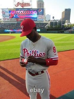 Sweetspot Jacket Autographed Signed Baseball 2B used @ Los Angeles Dodgers game