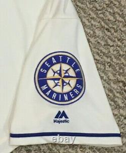 TUIVAILALA #26 sz 46 2019 Seattle Mariners Home Cream game used jersey 150 MLB