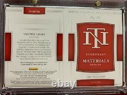 Ted Williams 2020 National Treasures Game Used Laundry Tag Booklet 1/1