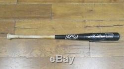 Tino Martinez Signed Game Used Yankee Baseball Bat