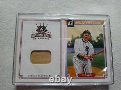 Ty Cobb Authentic Game-used bat card and others You Pick Gary Sheffield. Plus