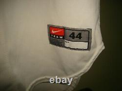 USMA Army Black Knights West Point game used Nike Baseball jersey! AMAZING! LOO