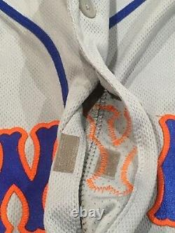 WILSON size 48 #38 2020 New York Mets game used jersey road SEAVER 41 MLB HOLO