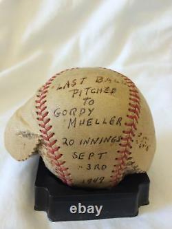 1940 Emplacement Final Du Jeu Utilisé Baseball L'un Des Jeux Les Plus Longs Dans L'histoire Cot Affaire