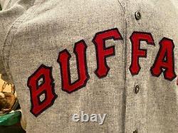 1965 Buffalo Bisons Baseball Game Used Jersey War Memorial Stadium The Rockpile