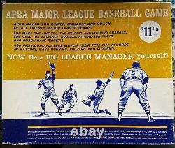 1965 Communiqué (statistiques De 1964) Apba Baseball Set Original Box All 400 Player Cards
