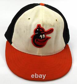 1977-1979 Earl Weaver Jeu Utilisé Baltimore Orioles Hat Cap Avec Mears Coa