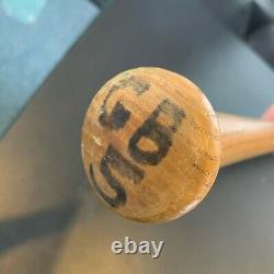 1980 George Brett Signed Game Used Louisville Slugger Baseball Bat Mears Coa
