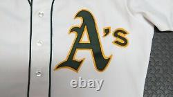 1983 Luis Quinones Oakland Athletics Game Used Worn Mlb Baseball Jersey A's