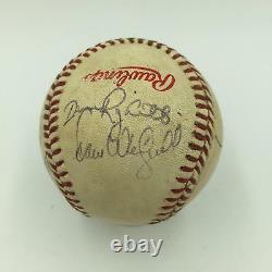 1987 All Star Game Don Mattingly Rickey Henderson Jeu Signé Utilisé Baseball Jsa