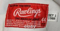 1988 Kal Daniels Cincinnati Reds Jeu Utilisé Maillot À Domicile- All Star Patch