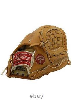 1993 Ryne Sandberg Signé Jeu Utilisé Rawlings Gants De Baseball Chicago Cubs Jsa Coa