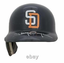 1998 Tony Gwynn Jeu Utilisé Et Signé San Diego Padres Batting Casque Utilisé Pour Les Soins