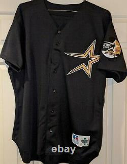 1999 Jose Lima Houston Astros Jeu Utilisé #42 Astrodome 35e Année Patch