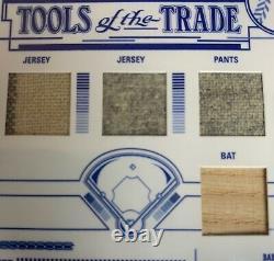 2005 Absolute Memorabilia Babe Ruth Quad Jeu Worn Jersey Pantalons Bat #19/20