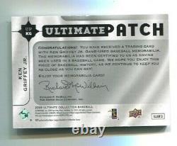 2009 Ultimate Collection Ken Griffey Jr Jeu Jersey Nom Logo Patch #d 34/35