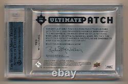 2009 Ultimate Collection Ted Williams Jeu Utilisé Patch # 15/22 Bgs 9 Pop 1