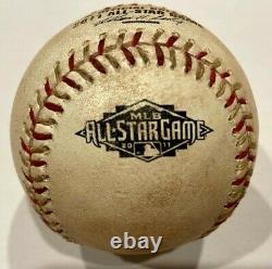 2011 All Star Game Used Baseball Fielder Mvp Konerko Kimbrel Mlb Holo