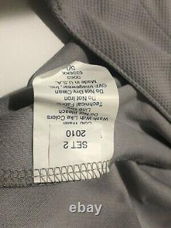 2011 Oakland Athlétisme Tyson Ross #66 Jeu Utilisé Grey Jersey Mlb Authentification