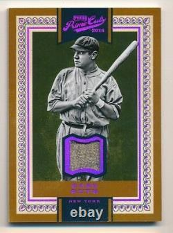 2016 Prime Cuts Babe Ruth Jeu Matériel Utilisé Relique #2/3