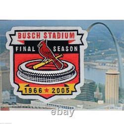 2016 Topps Dynasty Albert Pujols Jeu Utilisé Auto 2/5 Busch Stadium Saison Finale