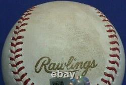 2016 World Series Game 3 Wrigley Field Chicago Cubs Jeu Utilisé Baseball Mlb Holo