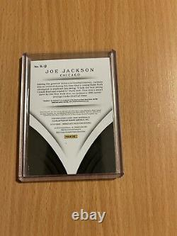 2018 Immaculée Shoeless Joe Jackson Chicago White Sox Jeu-used Bat Vrai 1/1