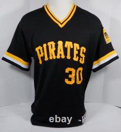 2019 Pittsburgh Pirates Kyle Crick #30 Jeu Utilisé Black Jersey 1979 Tbtc Wsc 778