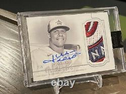 2020 Topps Dynasty Juan Soto Rare 2/5 Auto Jumbo Patch Game Used Nationals
