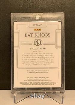 2020 Wally Pipp Panini National Treasures Game-used Bat Knob 1/1