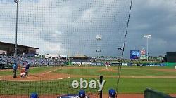 2021 Mlb Jeu De Baseball Usagé Carte De Lineup Philadelphia Phillies Toronto Blue Jays
