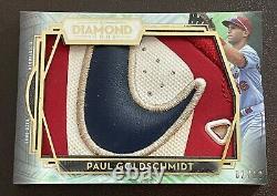 2021 Topps Diamond Icons Paul Goldschmidt Jeu Utilisé Swoosh Patch! /10! Cardinaux