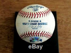 Alex Rodriguez Rangers Jeu Utilisé Home Run # 345 2003 Mvp Baseball Elite Mlb