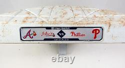 Atlanta Braves At Philadelphia Phillies Jeu Utilisé 3e Base 28/04/18 Markakis Hr