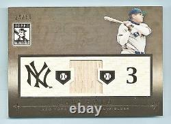Babe Ruth 2010 Topps Jeu D'hommage Bat D'occasion /50 New York Yankees