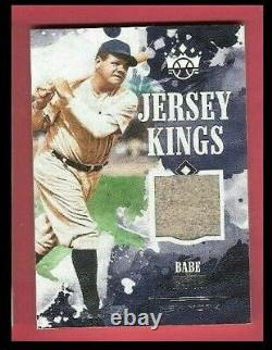 Babe Ruth Jeu Utilisé Jersey Card 2018 Diamond Kings Jersey Yankees De New York