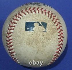 Barry Bonds Hr 756 Août 8 2007 San Francisco Giants Game Used Baseball Mlb