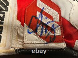 Chipper Jones A Signé Batting Gants Jeu Utilisé Atlanta Braves Beckett Coa