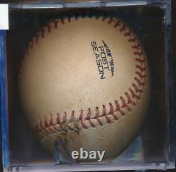 Clayton Kershaw Vs. Cain Jeu Utilisé Baseball Pas Cln Jeu 5 Dodgers Vs Brewers