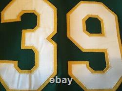 Dave Parker 1988-89 Oakland Athlétisme Comme Jeu Utilisé Jersey + Chapeau De Chapeau + Chaussures
