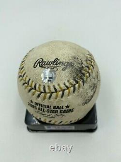 Derek Jeter 2006 All Star Game Jeu Hit Baseball Mlb Réel Utilisé Assermentée