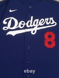 Geren Taille 48 2020 Los Angeles Dodgers Maillot De Match Utilisé All Star Patch Spring