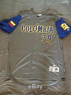 Gio Urshela Jeu World Baseball Classic Occasion Colombie Jersey Yankees Wbc