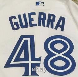 Guerra Taille 48 #48 2019 Toronto Blue Jays Jeu Utilisé Jersey Maison Blanc Mlb Holo