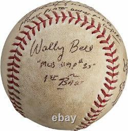 Historic Barry Bonds Home Run 756 Jeu Signé Baseball D'occasion Psa Dna & Mlb Auth