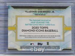 Icônes De Diamant 2020 Vladimir Guerrero Jr. Game Used Mlb Logo Patch # 1/1 S41