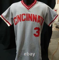 John Mcnamara Cincinnati Reds Jeu Maillot D'occasion